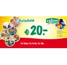 10€ Geschenkgutschein für unser Geschäft Fuhr Gießen