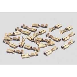 Märklin - H0 - Flachsteckhülsen 20 Stück für C-Gleis
