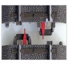 Märklin - H0 - Gleismaterial - Mittelleiter-Isolierung