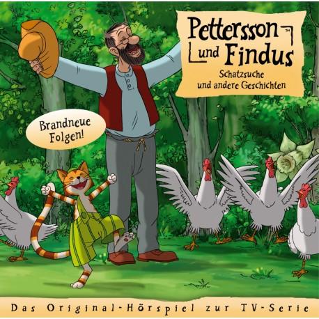 """Edel:KIDS CD - Pettersson und Findus, """"Schatzsuche & andere Geschichten"""" (Folge 6)"""