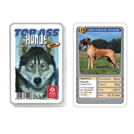 ASS Altenburger Spielkarten - TOP ASS Quartett Hunde