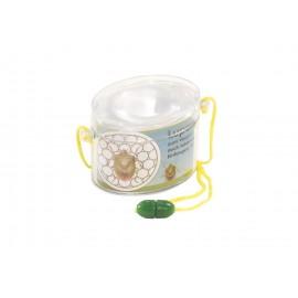 Kuenen - Pfiffikus Lupendose (Oval) zum Umhängen - Bandfarbe nicht auswählbar