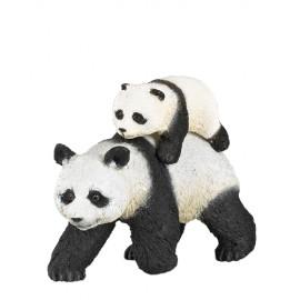 PAPO Wildtiere - Panda mit Jungtier