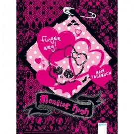 Arena Verlag - Monster High - Finger weg! -  Mein Tagebuch