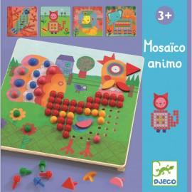 Djeco - Lernspiel: Mosaico animo