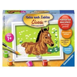 Ravensburger Spiel - Malen nach Zahlen Classic - Kleines Fohlen