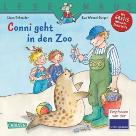 Carlsen - LESEMAUS, Band 59 - Conni geht in den Zoo, Softcover