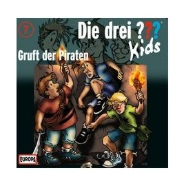 Europa - Die drei ??? Kids CD Gruft der Piraten, Folge 7