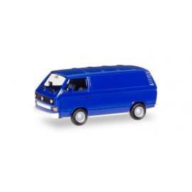 Herpa - VW T3 Bus, ultramarinblau