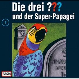 CD Die drei ???: und der Superpapagei, Folge 1