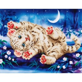Diamond Dotz Baby Tiger 35,5 x 27,9 cm