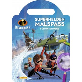 Nelson Verlag - Disney Die Unglaublichen 2 - Superhelden-Malspaß für unterwegs