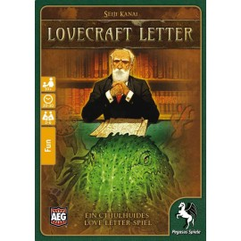 Alderac - Lovecraft Letter, deutsche Ausgabe