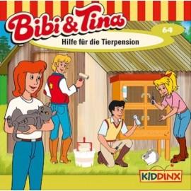 KIDDINX - CD Bibi und Tina … Hilfe für die Tierpension (Folge 64)