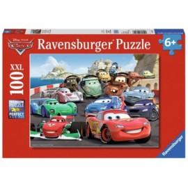 Ravensburger Puzzle - Cars 2 - Brisantes Rennen, 100 Teile