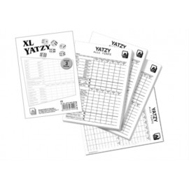 Nürnberger Spielkarten - Yatzy -eXtra cLassic- Spielblöcke 3er
