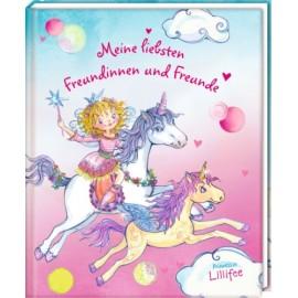 Coppenrath - Freundbuch: Meine liebsten Freundinnen und Freunde Prinzessin Lillifee