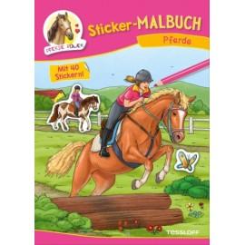 Tessloff - Sticker-Malbuch Pferde