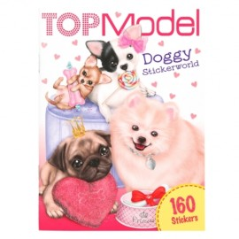 Depesche - TOPModel - Pocket Stickerworld Doggy