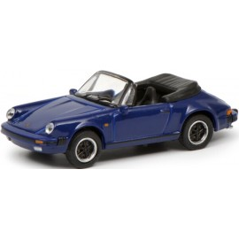 Schuco Porsche 911 3.2, blau 1:87