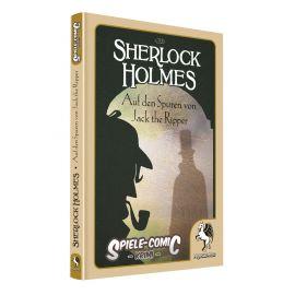 Pegasus Spiele-Comic Krimi: Sherlock Holmes - Auf den Spuren von Jack the Ripper (Hardcover)