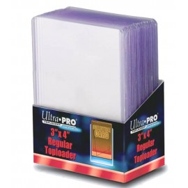 Ultra Pro Toploader regular 3'' x 4''