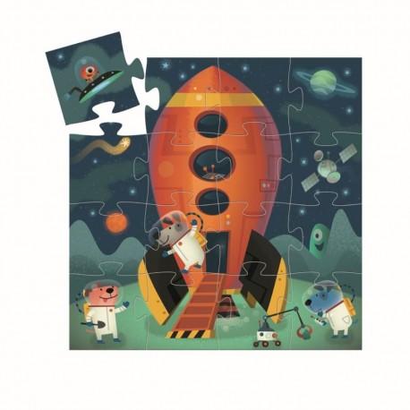 Formen Puzzle: Spaceship