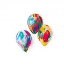 8 Latexballons standard sortiert 18 cm/7''