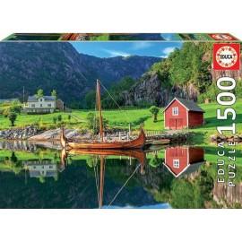 Educa - Viking Ship 1500 Teile
