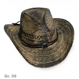 FRIES - Cowboyhut Stroh DeLuxe, Gr. 58 cm