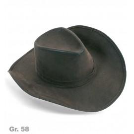 FRIES - Cowboyhut braun, Gr. 58 cm
