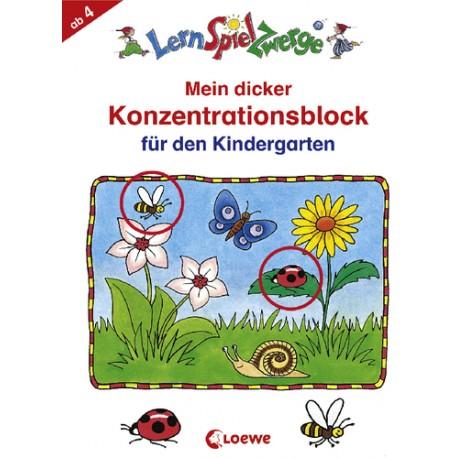 LSZ Block-Konzentration Kindergarten