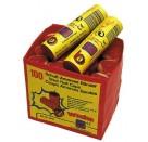 Amorces-100-Schuss-Bänder, 10 per Rolle