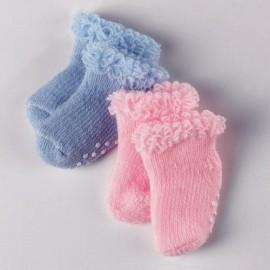 ABS-Socken 33-42cm roa/blau