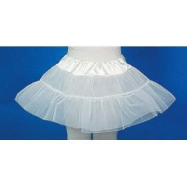 Petticoat weiss 2-lagig, 140